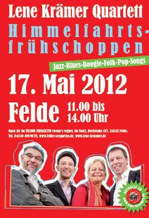 Vatertags-Konzert mit Lene Krämer Quartett  im Felder Seegarten