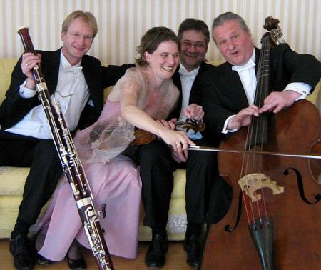 Tango im Felder Seegarten – Wagners Salonquartett