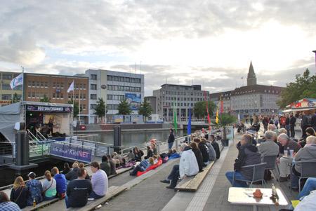 KielNET-Bootshafensommer am Wochenende mit viel Livemusik