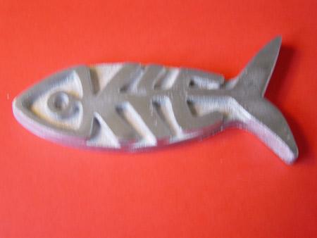 Im Industriemuseum Howaldtsche Metallgießerei wird der Kielfisch gegossen