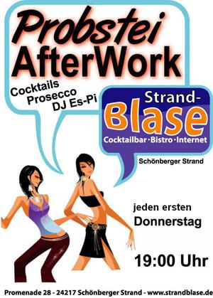 Probstei AfterWork diesmal mit Kieler Spitzen Barkeeper Phillip Briceno