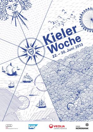 Dimension-Polyant sponsert auch 2013 die Kieler Woche