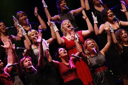 Super! Perpetuum Jazzile live in der Kieler Sparkassen-Arena