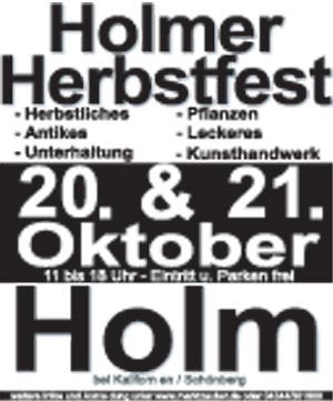 Holmer Herbstfest 2012