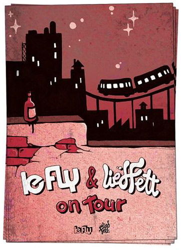 LE FLY und LIEDFETT live in der Kieler Schaubude