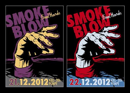 Zusatzkonzert mit Smoke Blow in der Kieler Pumpe