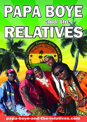 Felder Seegarten: Reggae mit Papa Boye & the Relatives