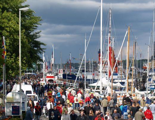 Tourismus 2012 in Kiel: über 580.000 Übernachtungen und 300.000 Ankünfte
