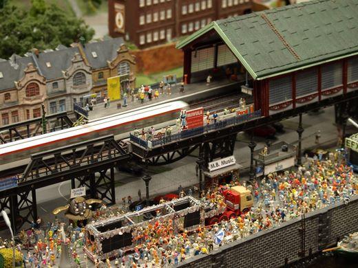 Große Modelleisenbahnbörse im Legienhof Kiel