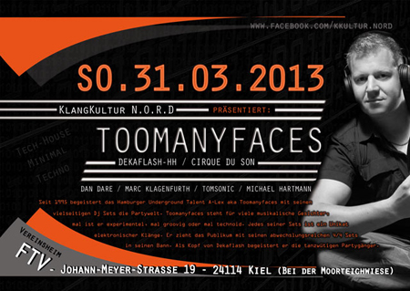 A-Lex aka Toomanyfaces aus Hamburg im Vereinshaus FTV
