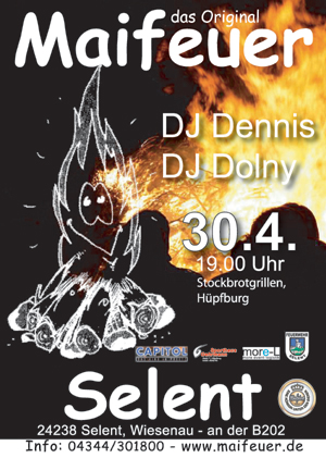 Hof Freiberg in Selent – Anlässlich des Maifeuers geht es am 30.4. in Schönkirchen hoch her