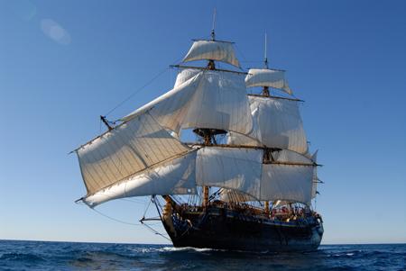 Traditionsschiff Götheborg besucht erstmals die Kieler Woche