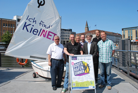 Auch 2013: KielNET-Bootshafensommer geht in die fünfte Runde
