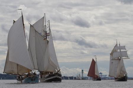4. Kieler Traditionssegler-Regatta 2013 ein voller Erfolg