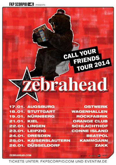 Live in der Kieler Pumpe: Zebrahead