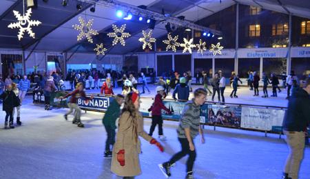 Stadtwerke Eisfestival in Kiel nur noch bis Sonntag