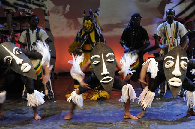 Musical Mother Africa in Kiel