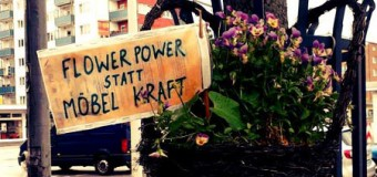 Möbel Kraft! Gartenparty statt Todeskino! Um 12  Uhr am 1. März Demo auf dem Rathausplatz Kiel