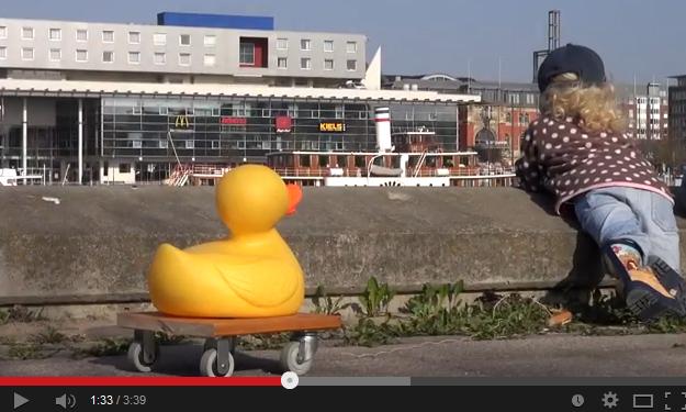 Auftaktveranstaltung zum Kieler Entenrennen 2014