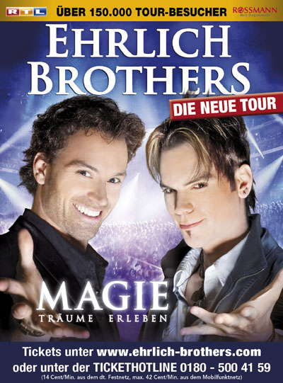 Die neue MAGIC Show der Ehrlich Brothers in der Sparkassen-Arena Kiel