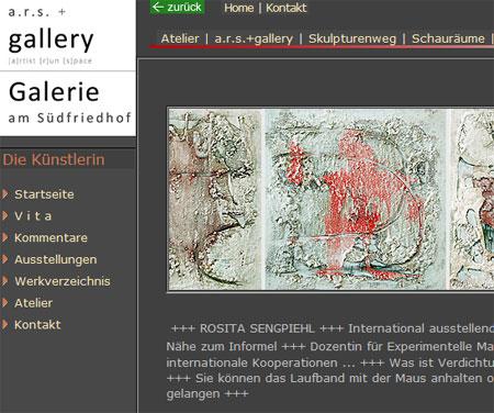 a.r.s.+gallery in Kiel ist umgezogen