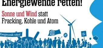 Am 22. März 2014 große Demo für die Energiewende