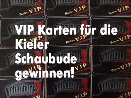 12 Jahre Kieler Schaubude – 12 VIP-Karten werden verlost – Große Jubiläums-Party