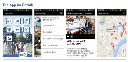 Neu! Kiel Guide – Die kostenlose Kiel App für Smartphone und Tablets
