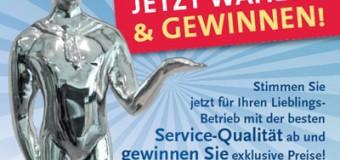 Wählen SIE den Kieler Service Award für die besten Unternehmen in Kiel – schöne Preise