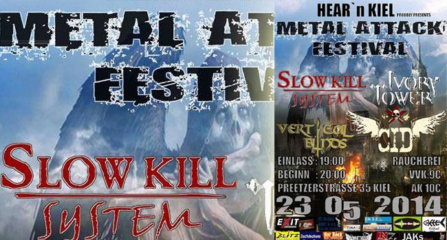 Räucherei Kiel – HEAR'n KIEL proudly presents das METAL ATTACK FESTIVAL