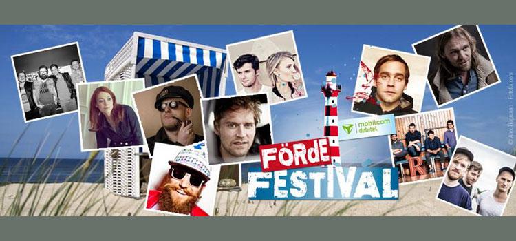 Feines Line-Up: Förde Festival bei Laboe u.a. mit Revolverheld, Flo Mega, Glasperlenspiel und MC Fitti