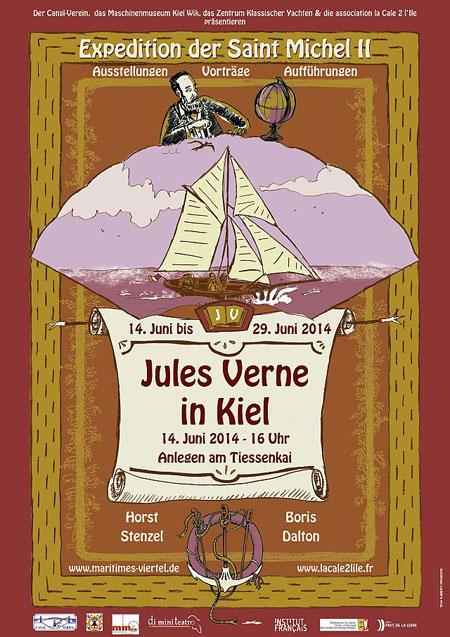 Jules Verne kommt zurück nach Kiel