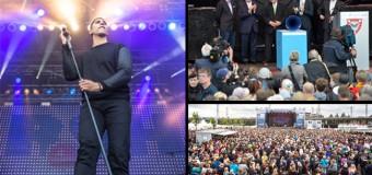 Gauck eröffnete Kieler Woche –  Andreas Bourani aber begeisterte 10.000 Besucher