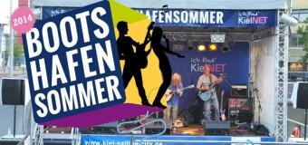 Top-Programm zum KielNET-Bootshafensommer 2014