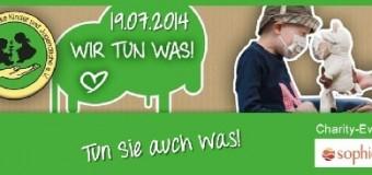 Charity-Event zugunsten des Förderkreises für krebskranke Kinder und Jugendliche im Sophienhof