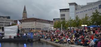 Benefiztag zum Finale des 6. KielNET Bootshafensommers 2014