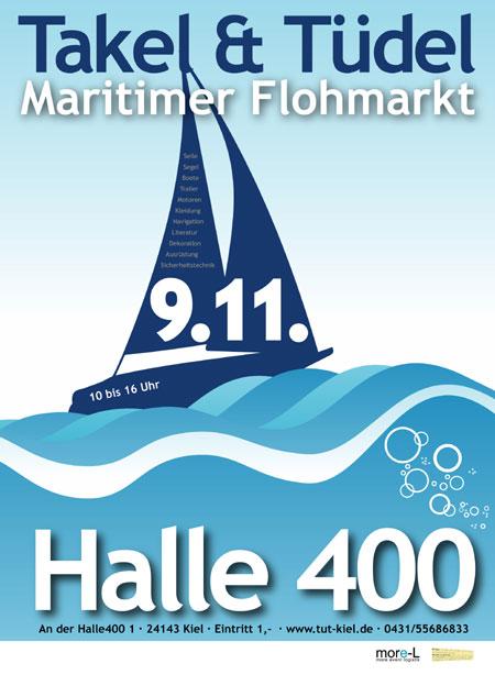 Tafel & Tüdel – Maritimer Flohmarkt in der Kieler Halle400