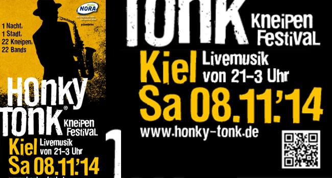 Honky Tonk am 8. November – Kieler rocken quer durch Kiel