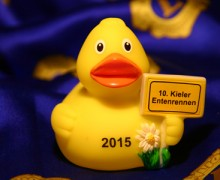 Kieler Enten auf Jubiläumskurs