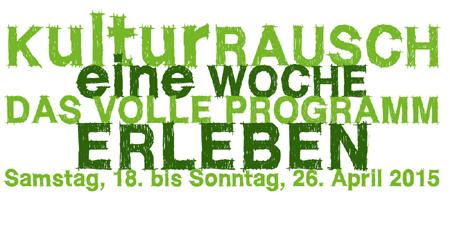 Vorschau auf den Kieler Kultur-Rausch 2015