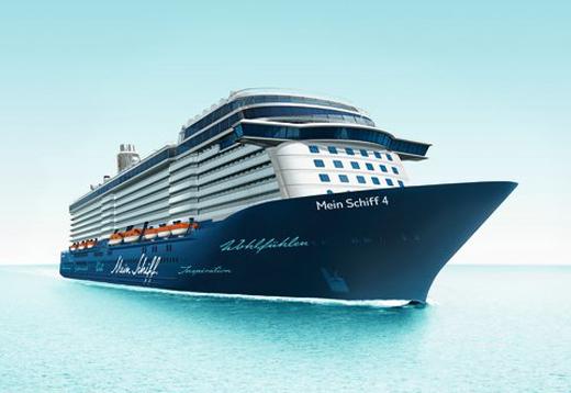 TUI Cruises lädt ein zur großen Taufparty der Mein Schiff 4