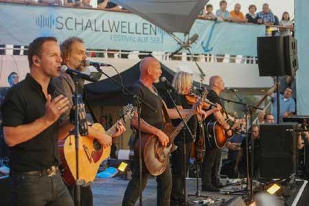 Schallwellen – Festival auf See feiert erfolgreiche Premiere