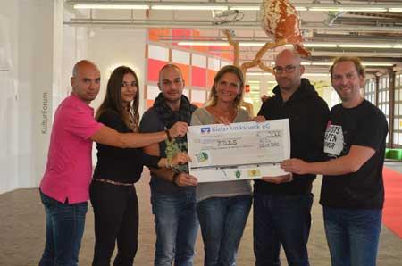 3.500 Euro Spendenerlös beim Benefiztag des Kieler Bootshafensommer 2015
