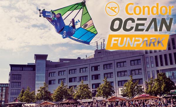 Die geilsten Funsportarten auf der Kieler Woche – Condor OCEAN Funpark hebt ab
