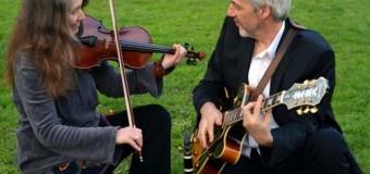 Klezmer mit dem Duo Zhok live in der Wattenbeker Räucherkate