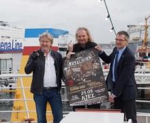 Metaltörn! Echtes Wacken-Flair zu Himmelfahrt in Kiel.Sailing.City