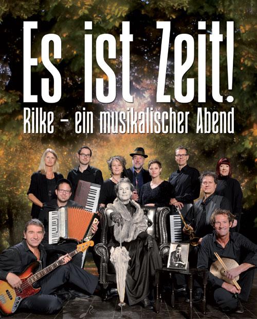 Es ist Zeit!! Premiere eines musikalischen Rilke Abends im Lutterbeker