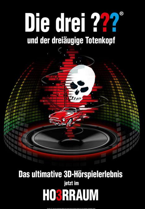 """Mediendom Kiel: """"Die drei ??? und der dreiäugige Totenkopf"""""""