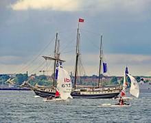 Kieler Woche 2018: Der Logenplatz zur Windjammerparade
