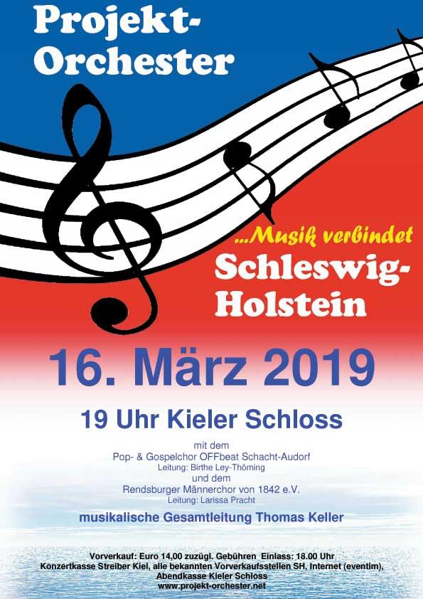 Das einmalige Projektorchester SH gastiert im Kieler Schloss